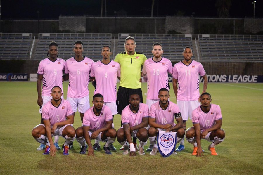 Bermuda solo jugó con tres seleccionados titulares frente a Guatemala