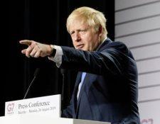 """Boris Johnson aseguró que Reino Unido y la Unión Europea (UE) lograron """"un gran nuevo acuerdo"""" sobre el Brexit. (GETTY IMAGES)"""