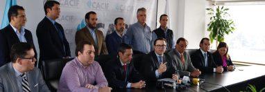 Integrantes del Cacif exigen que se revise el modelo de las alianzas público-privadas para permitir que se aseguren procesos de aprobación responsables y libres de conflictos de interés. (Foto Prensa Libre: Fernando Cabrera)