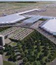 La construcción de la terminal aérea empezó a pesar de demandas en los tribunales.