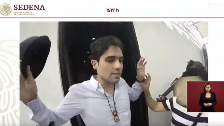 Muestran video del hijo del Chapo pidiendo parar violencia durante operativo. (Foto Prensa Libre: Tomada de youtube.com/user/forbesmexico)