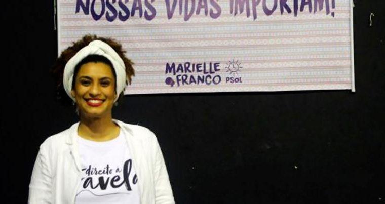 Marielle Franco, la consejala de Río de Janeiro que fue asesinada en 2018. El presidente de Brasil Jair Bolsonaro fue mecionado en las investigaciones. (Foto Prensa Libre: Redes)
