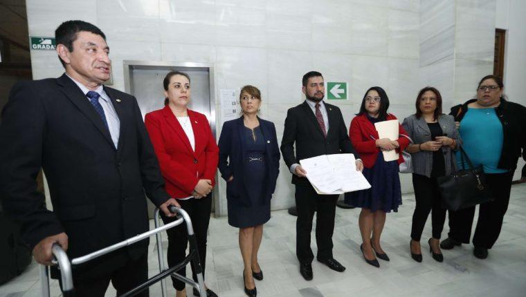 Los siete integrantes del Consejo de la Carrera Judicial. (Foto Prensa Libre: Hemeroteca PL)