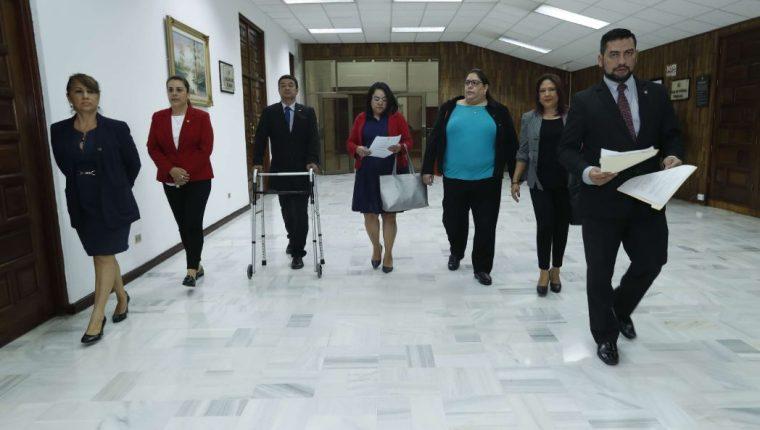 El CCJ entregó a la Suprema el reglamento de la Ley de la Carrera Judicial, el cual fue rechazado. (Foto Prensa Libre: Hemeroteca PL)