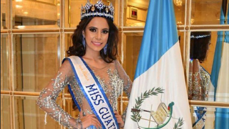 Keila Rodas tampoco podrá participar en los concursos internacionales en representación del título Miss Guatemala Mundo. (Foto Prensa Libre: Facebook)