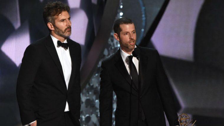 """David Benioff y D.B. Weiss, renunciaron a realizar para Disney una trilogía de """"Star Wars"""". (Foto Prensa Libre: AFP)"""