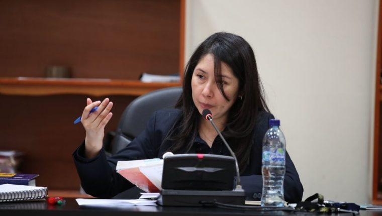 Erika Aifán ha denunciado constante hostigamiento a su labor como jueza de alto impacto. (Foto Prensa Libre: Hemeroteca PL)