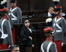 Delia Bac, diputada de Alianza Ciudadana. (Foto Prensa Libre: Hemeroteca PL)
