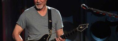 Eddie Van Halen sufre cáncer desde hace 20 años. (Foto Prensa Libre: AFP)