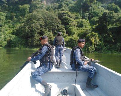 Efectivos del Comando Naval del Pacífico en un operativo. (Foto: Ejército de Guatemala)