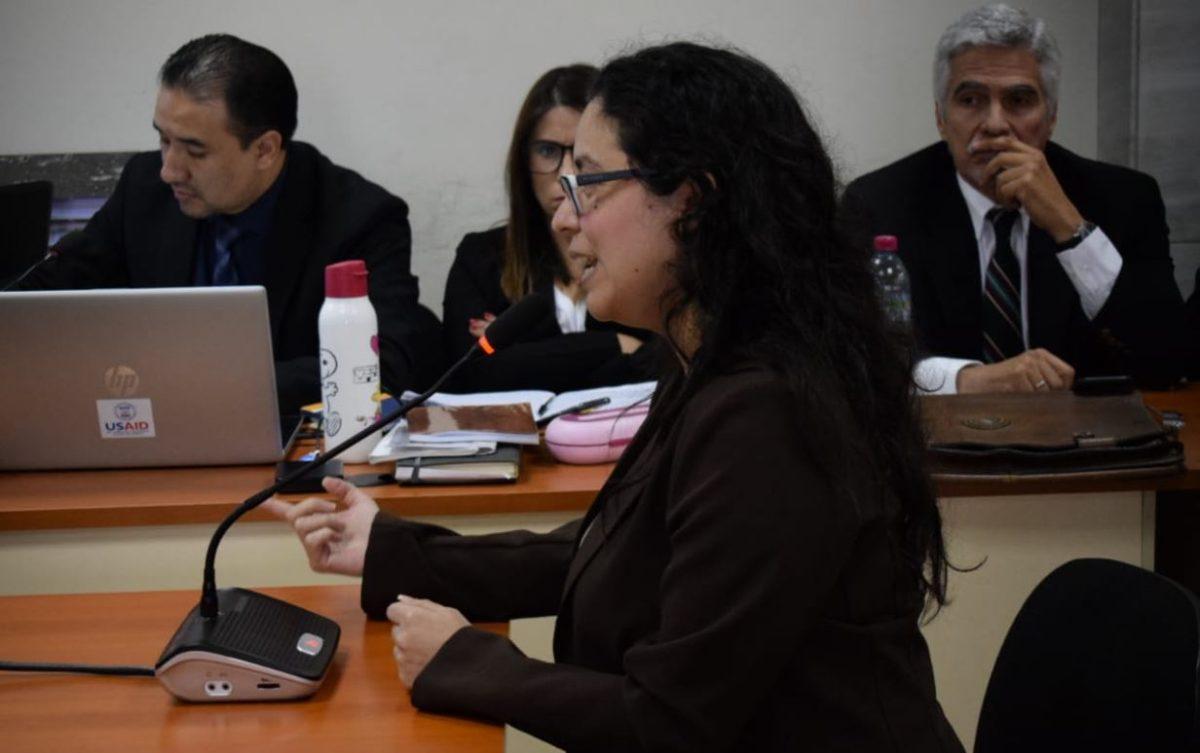 Exjefa jurídica del MP revela coacción para declarar contra Thelma Aldana
