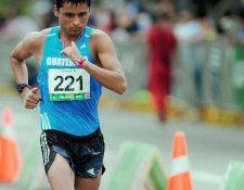 Érick Barrondo terminó fue undécimo en Doha 2019. (Foto Prensa Libre: Hemeroteca PL)