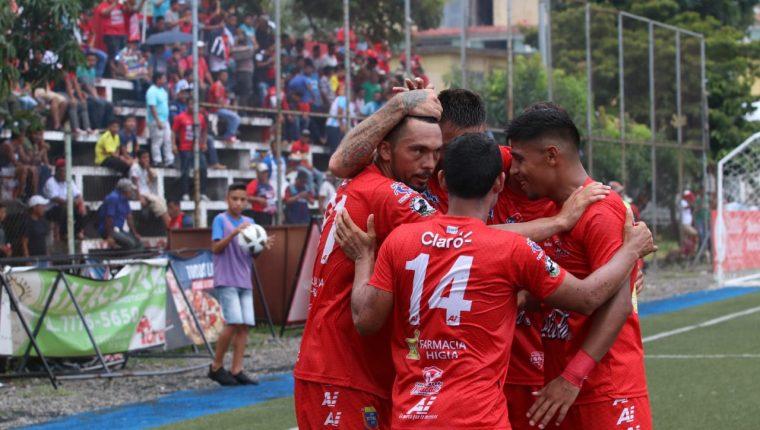 Malacateco es uno de los equipos que ha anotado más ocho veces en un solo partido de torneos cortos