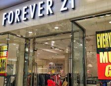 Forever 21 ya comenzó a cerrar tiendas por bancarrota. (Foto Prensa Libre: Fernanda Celis/ Forbes México)