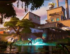 Epic Games lanza tráiler oficial del capítulo 2 de la temporada 11 del videojuego Fortnite. (Foto Prensa Libre: Epic Games)