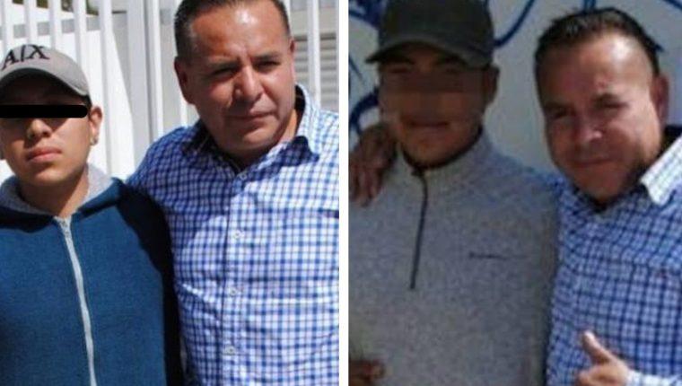 Testigos reconocieron a estos dos jóvenes como los atacantes de Francisco Tenorio Contreras. (Foto Prensa Libre: Twitter)