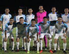 Este es el 11 titular de la Selección Nacional en Anguila. (Foto Prensa Libre: Cortesía Fedefut)