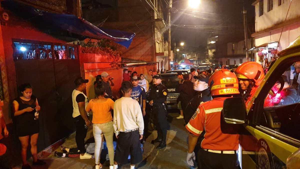 Ataques armados en La Verbena, zona 7, dejan un muerto y un herido
