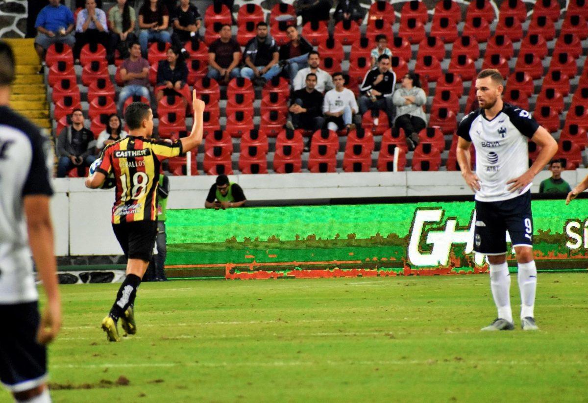 Marvin Ceballos le vuelve a anotar a Monterrey pero su equipo queda eliminado de la Copa MX