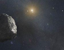 Imagen artística de un meteorito recorriendo el universo. (Foto: Nasa)