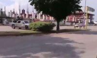 Vehículos militares se han movilizado por Culiacán durante las balaceras.