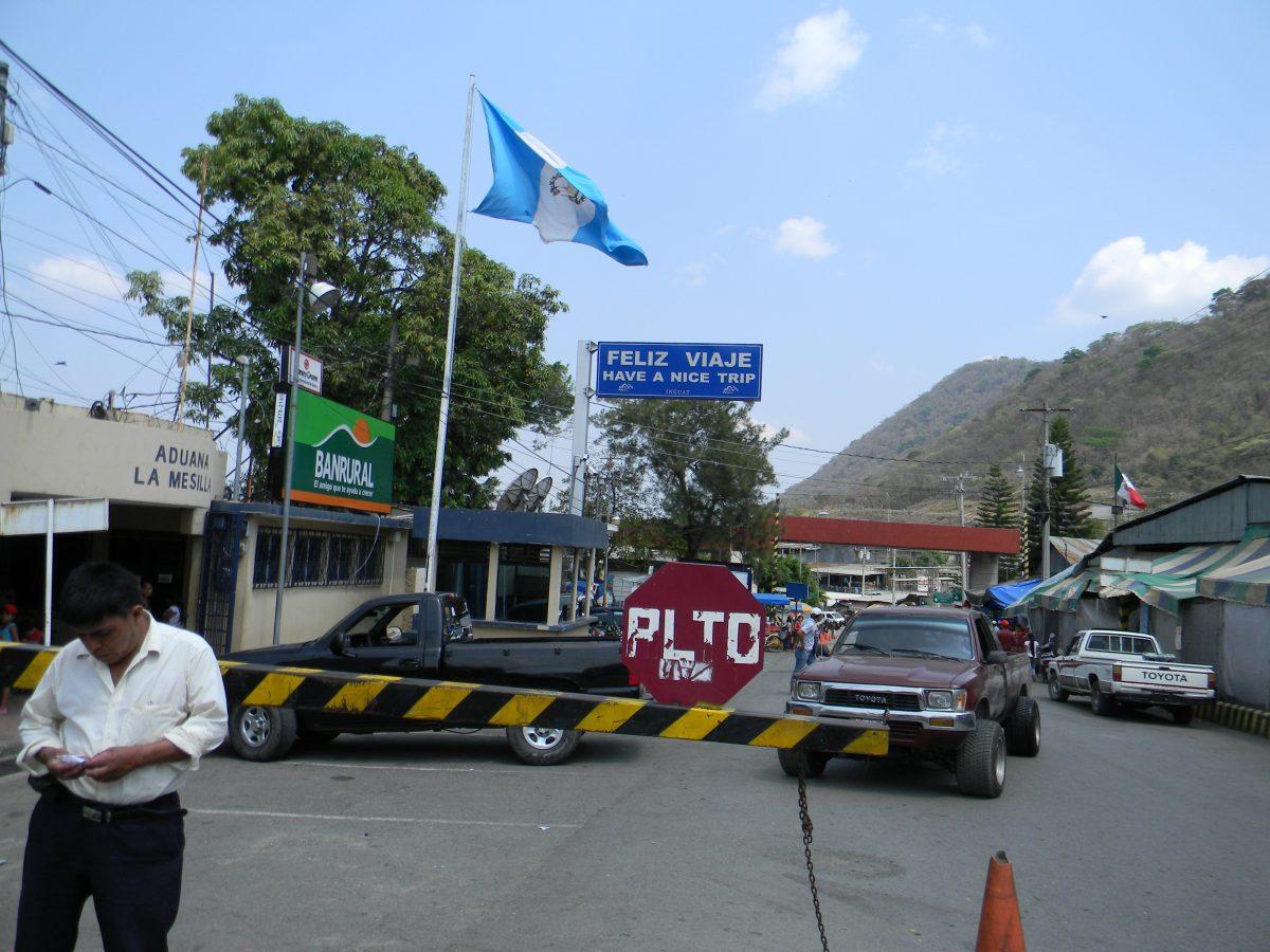 Aduana única entre Guatemala y México facilitará comercio con Centroamérica