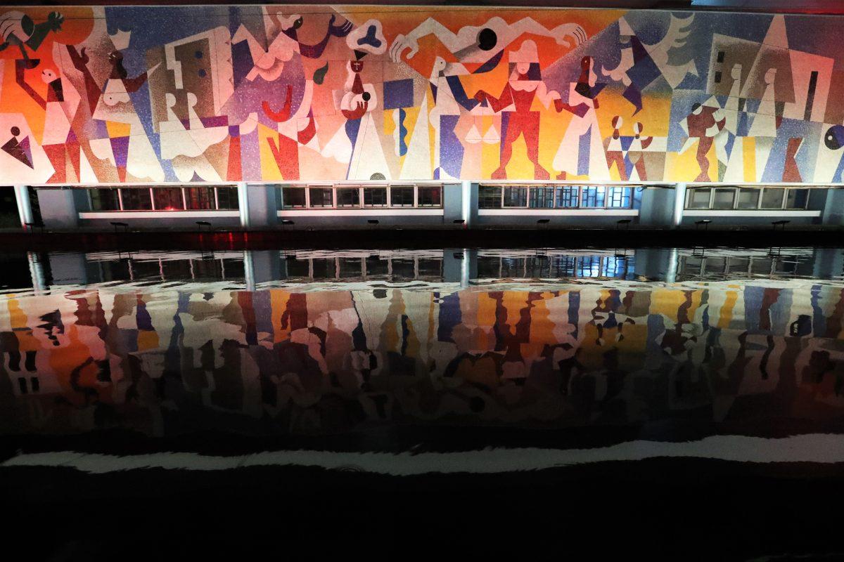 Mural de Carlos Mérida, La seguridad social, fue restaurado