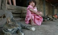 Uno de cada dos niños guatemaltecos sufre desnutrición crónica. (Foto Prensa Libre: Hemeroteca PL)