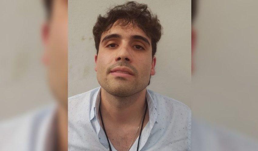 Imagen que circuló en redes de la supuesta detención de Ovidio Guzmán, hijo del Chapo. (Foto del sitio mediotiempo.com)