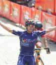 Julio Padilla gana la novena etapa de la Vuelta a Guatemala. (Foto Prensa Libre: Cortesía CDAG)