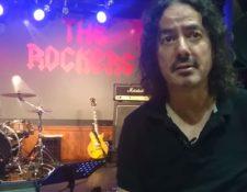Pedro Andreu, baterista de Héroes del Silencio, tocará en Guatemala junto a la banda Entropya. (Foto Prensa Libre: Víctor Rodríguez)