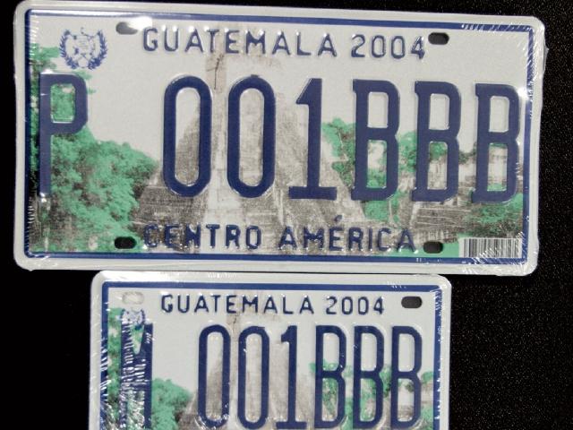 Cambio de placas de vehículos podría ser hasta 2021