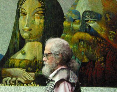 El 2 de octubre de 2011 falleció Efraín Recinos.  Este día se hace un homenaje anual para recordar su vida.  (Foto Prensa Libre: Hemeroteca PL)