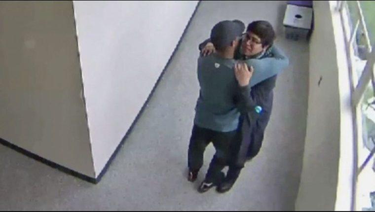 Ángel Granados Díaz, es el joven que estuvo a punto de cometer un ataque en una secundaria de Portland, Oregón. Foto Prensa Libre: Redes)