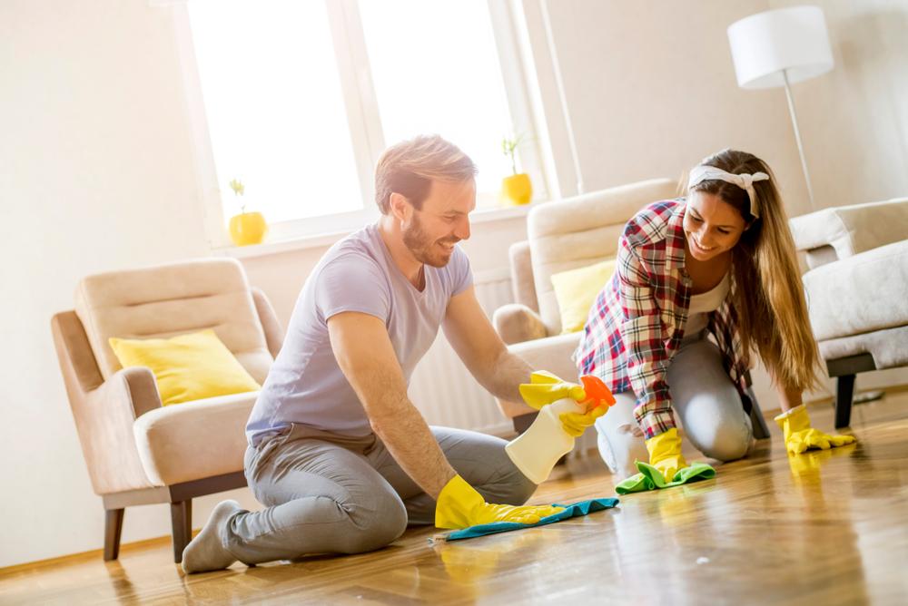 Limpiar el hogar para reducir el estrés