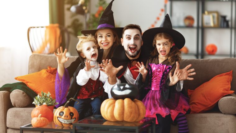 Halloween es una celebración milenaria y una oportunidad para convivir en familia. (Foto Prensa Libre: Servicios).