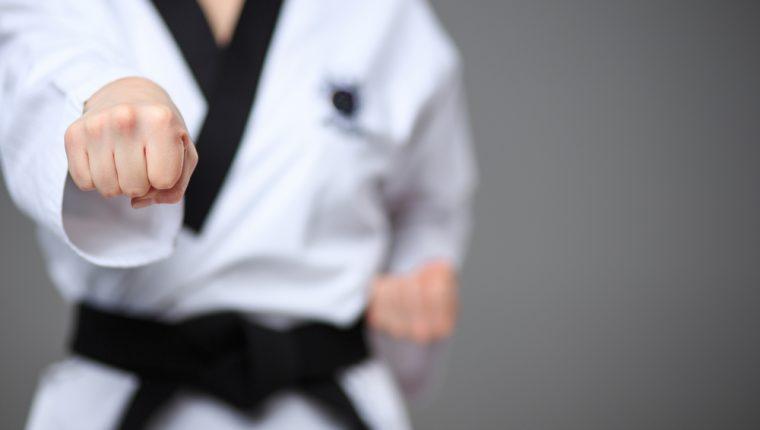 Cada 25 de octubre se celebra el Día Mundial del Karate. (Foto Prensa Libre: Servicios).
