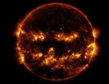 El Observatorio de Dinámica Solar de la NASA, monitorea constantemente el Sol desde su órbita en el espacio. (Foto Prensa Libre:  NASA / GSFC / SDO)