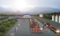 El Puerto Intermodal Tecún Umán II, en San Marcos, es uno de los proyectos que están en estudio bajo la sombría de alianza publico-privado. (Foto Prensa Libre: Hemeroteca)