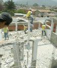 La construcción de viviendas es otro ofrecimiento del nuevo gobierno. (Foto Prensa Libre: Hemeroteca PL)