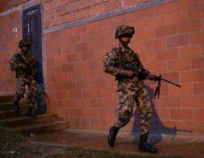 Las fuerzas militares de Colombia han sido sacudidas en los últimos tiempos por varios escándalos. AFP