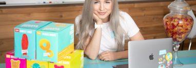 Tara empezó a desarrollar sus productos cuando decidió eliminar el azúcar de su dieta.
