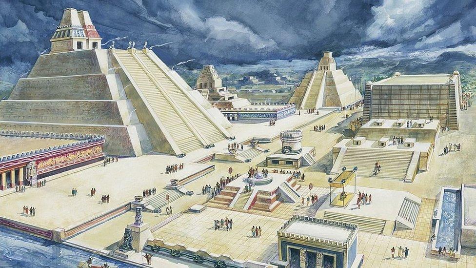 """""""La Venecia del Nuevo Mundo"""": así era la gran Tenochtitlan, la capital del imperio azteca que deslumbró a Hernán Cortés hace 500 años"""