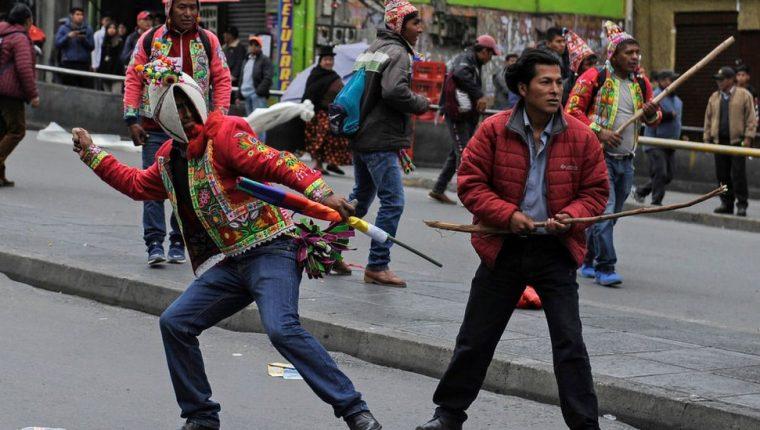 La protesta en Bolivia se ha radicalizado estas últimas semanas.