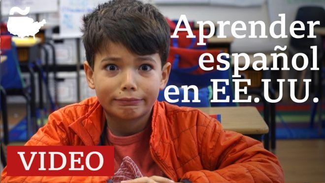 Español en Estados Unidos: cumbia, cachivaches, arepa, ¿cómo les va a estos niños estadounidenses deletreando palabras en español?