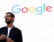 Sundar Pichai es el director ejecutivo de Google.