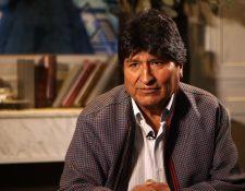 Evo Morales habló con BBC Mundo en Ciudad de México.