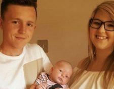 Jamie Heavens se ganó la lotería a los 22 años. Ya tenía una esposa y un hijo antes de eso. JAMIE HEAVENS