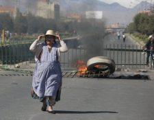 Las protestas en El Alto se saldaron con tres muertos. GETTY IMAGES