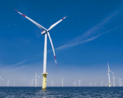 El nuevo estudio proyecta que la energía producida por una turbina eólica podría aumentar hasta un 37% para 2024. GETTY IMAGES